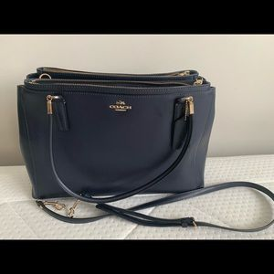 Coach bag (dark blue)